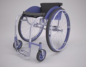 3D model wheels Wheelchair