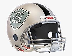 3D Riddell vsr 4 helmet