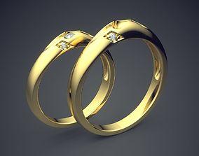 Engagement Rings 2722 3D printable model