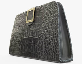 3D asset Black Woman Purse