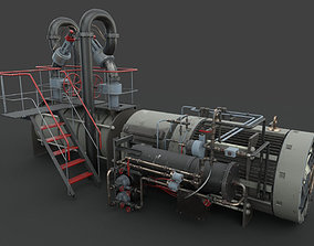 Machinery device machinery 3D PBR