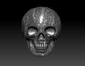 jewelry 3D printable model ring skull