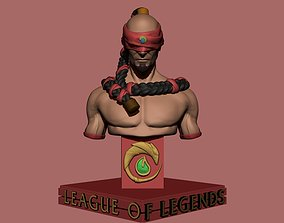 Lee Sin statue for 3D print