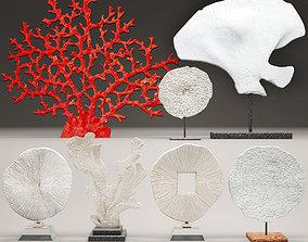 Coral set 3D