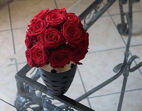 3D print model nice pot flowers