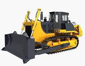 Bulldozer 01 3D model