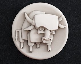 3D printable model Bull 2021 Taurus zodiac