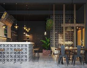 espresso Coffee House 3D model