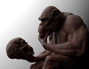 3D print model Darwins Chimp