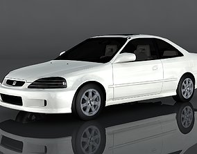 1999 Honda Civic Si 3D model