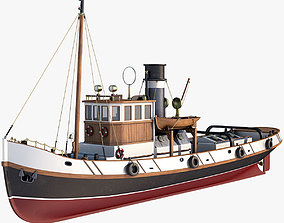 Ulises Tugboat 3D