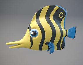 Cartoon Fish 3D asset