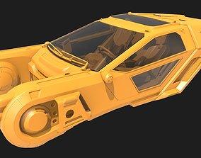K Spinner - Blade Runner 2049 Fan Art for 3D Printing