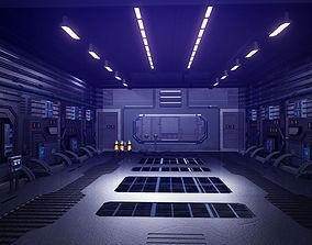 Scifi Hangar 3D