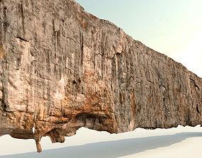 Cliff - Giant 420 meters prepared limestone cliff 3d 3