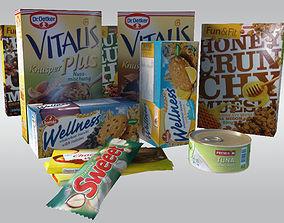 Food Items 3D asset
