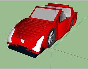 3D model antique car