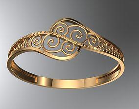 men 3D print model Ring 04