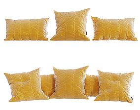 Pillows collection 3D model PBR