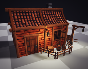 Stylized Medieval Low-Poly Pack 3D asset