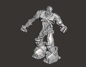 ABC Warrior Robot from the 1995 movie 3D print model 3