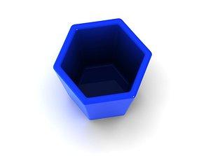 3D print model pot 15