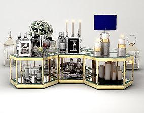 COFFEE TABLE SAX Eichholtz 3D