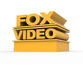 other 3D printable FOX video logo