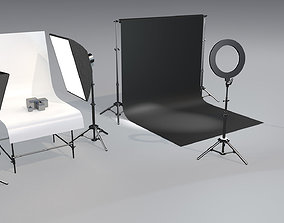 3D Photo studio asset pack