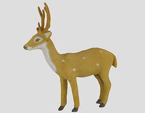 mammal Christmas Deer - Toy 3D