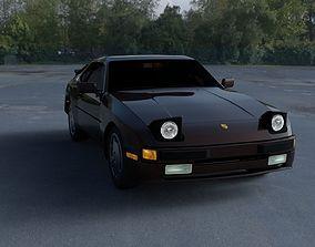 3D Porsche 944 S HDRI