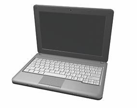 3D model Laptop computer
