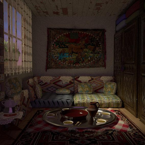 Turkish Village Home Inside
