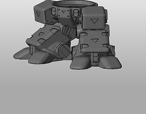 3D print model CHIBI-TECH SD - HEAVY METAL