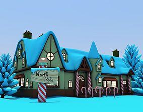 North Pole Santas Workshop 3D