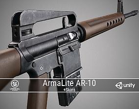 3D model PBR ArmaLite AR-10