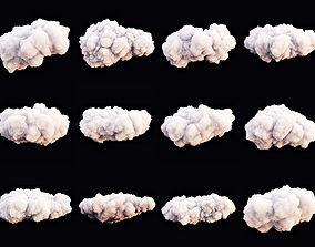 3D model Clouds Set