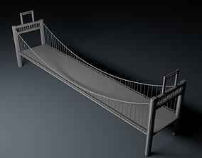 transport 3D Peacock Bridge