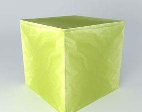 pouf ext green houses of the world 3D model