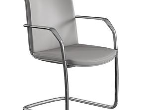 3D model Calder Orangebox Meeting Visitor Chair