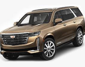 Escalade SUV 2021 3D model