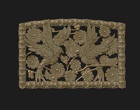 3D print model bird ornament