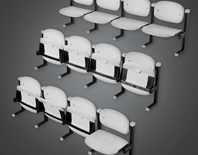 Chair Stands Stadium Style - HSG - PBR Game Ready 3D model