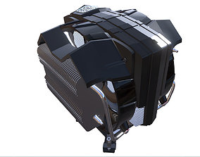 Cooler Master V8 Game 3D asset