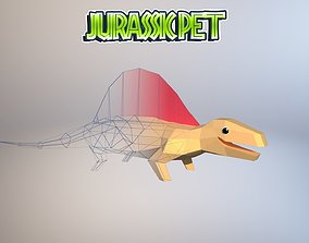 Dimetrodon 3D model