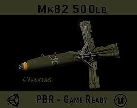 3D model realtime Mk82 500lb Bomb