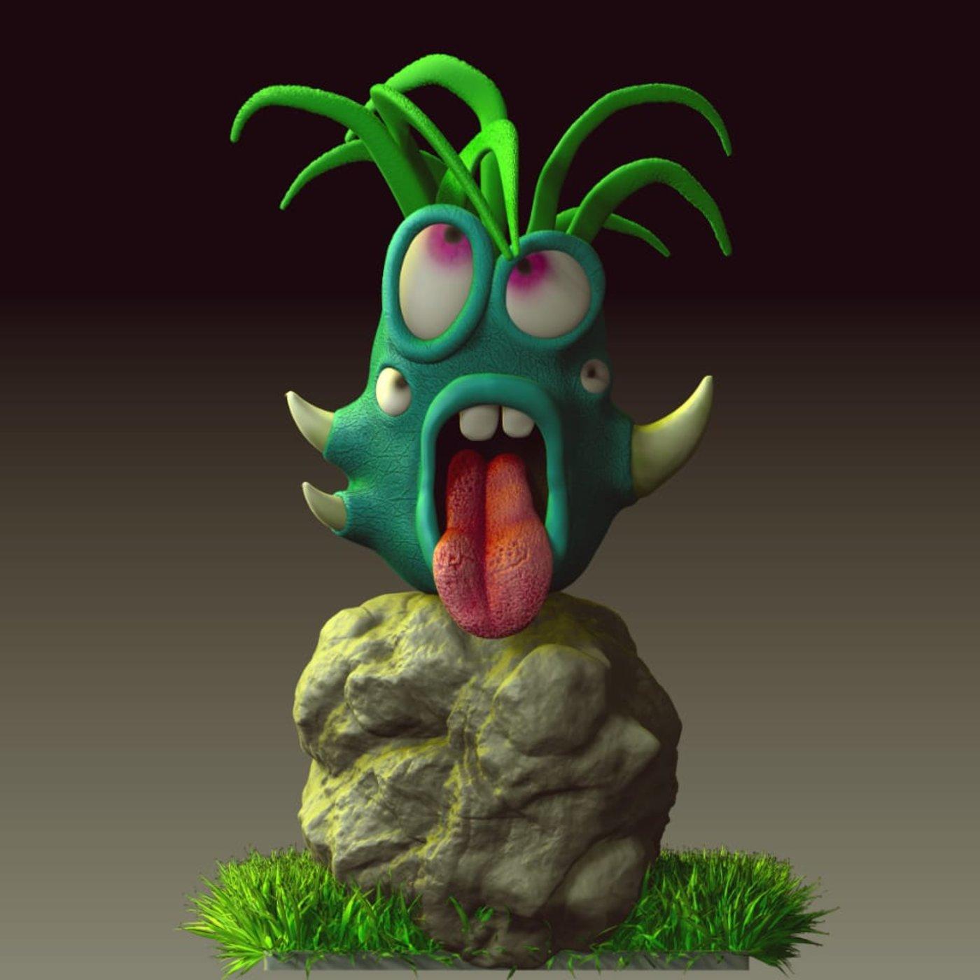 Monster Vase