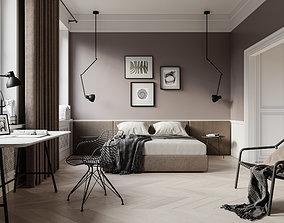 Bedroom scene 2 3D