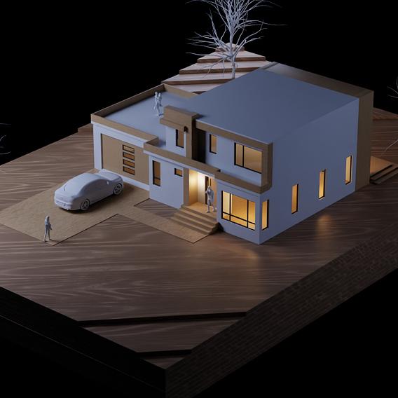 Blender Archviz - Modern House