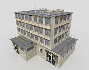 Office Building 3D asset